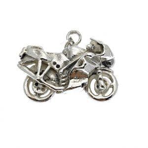 motor hanger zilver