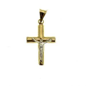 Gouden kruis met corpus