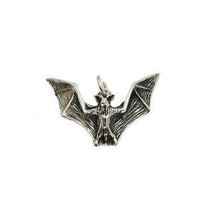 vleermuis hanger zilver