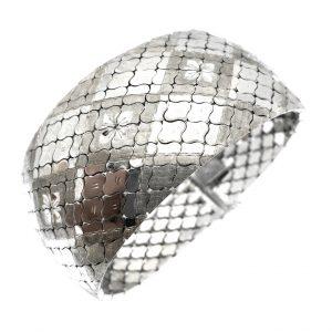 slang armband zilver