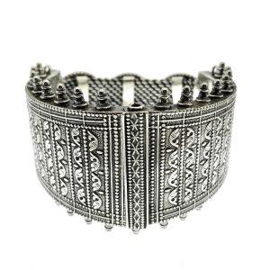 bohemian zilver armband