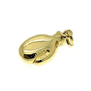 bokshandschoen goud hanger