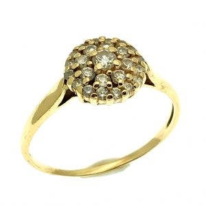 clusterring diamant