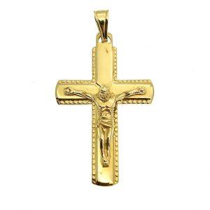 Gouden kruis met Jezus