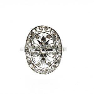 zilveren filigrain ring