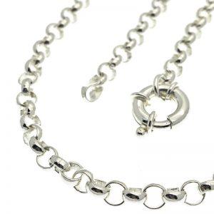 Jasseron collier zilver