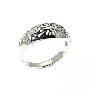Bohemian zilveren ring
