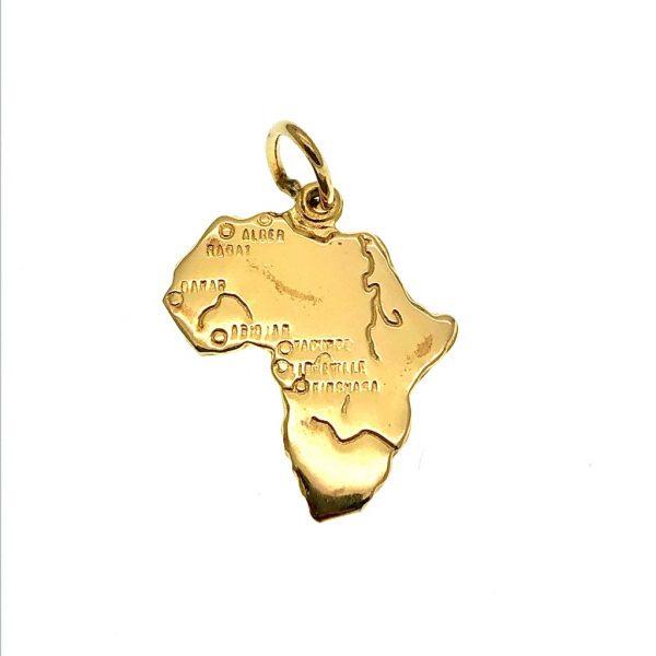 gouden hanger Afrika