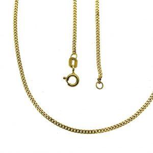 gouden dunne ketting