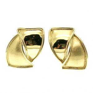 gouden fantasie oorstekers