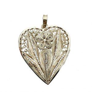 Zilveren medaillon filigrain