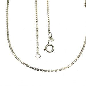 zilveren Venetiaanse ketting