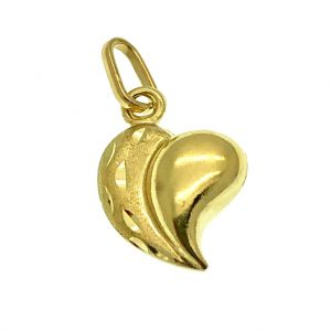 gouden hanger hartje