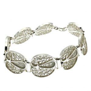 zilveren armband filigrain