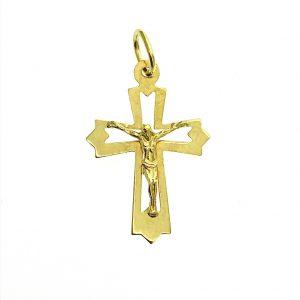 gouden hanger met corpus