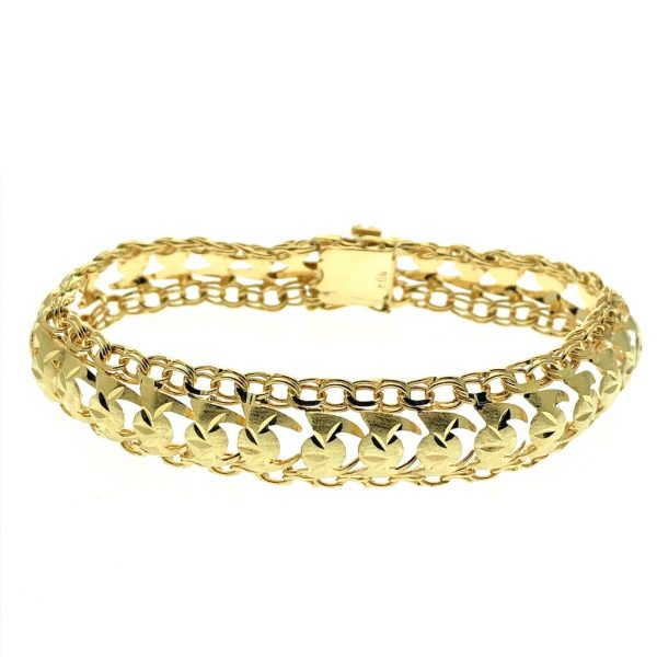 gouden klassieke armband