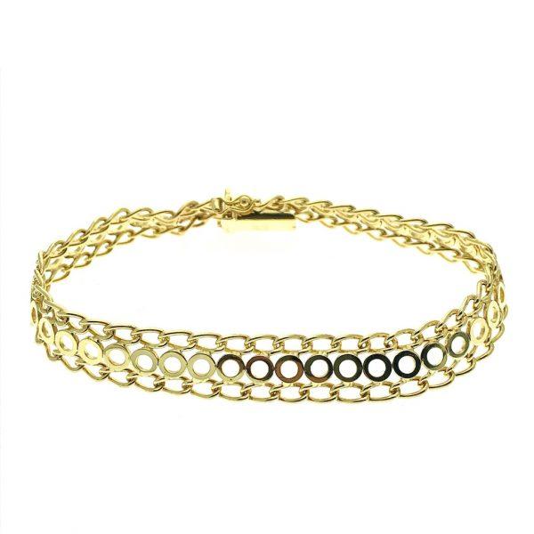 gouden fantasie armband