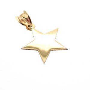 gouden hanger ster