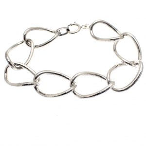 zilveren brede armband