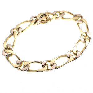 bicolor gouden armband closed for ever