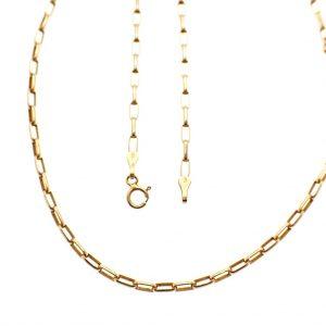 gouden anker schakel ketting