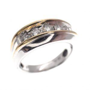 Exclusieve ring met diamant