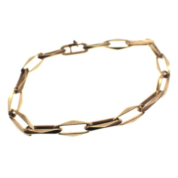 Closed for ever armband goud