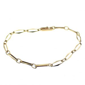 gouden closed for ever armband