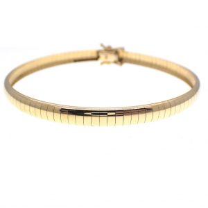 gouden omega armband