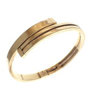 gouden gladde armband