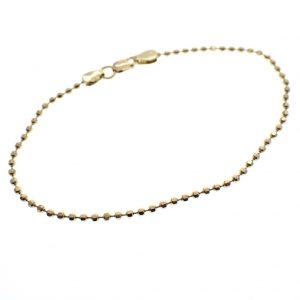 gouden bolletjes armband