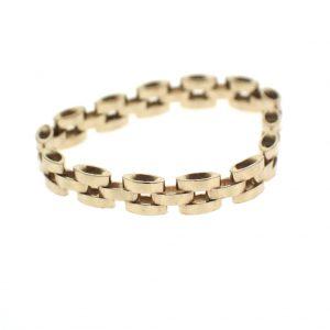 gouden schakel ring