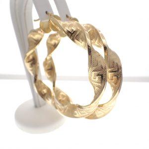 gouden wokkels met meander motief