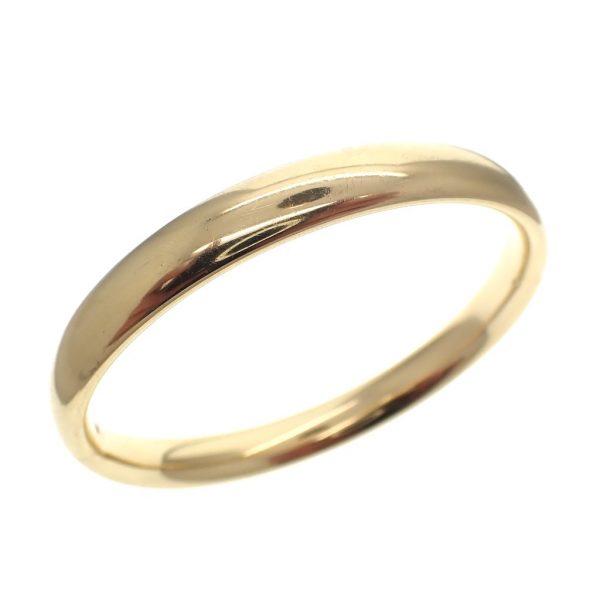 gouden gladde slaven armband