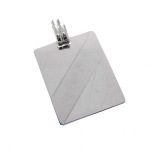 zilveren hanger plaatje