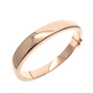 rosé gouden slaven armband