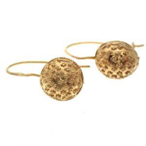 gouden vintage oorbellen oosters
