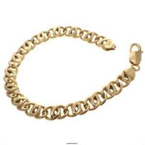 18 karaat gouden armband
