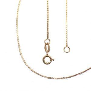 gouden venetiaanse schakel ketting