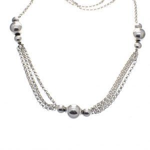 vintage sieraden ketting zilver