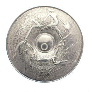 afrikaanse broche zilver