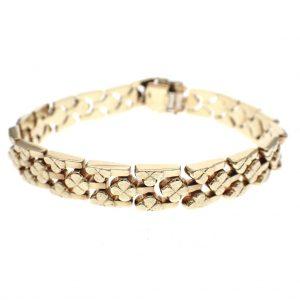 gouden dames armband vintage