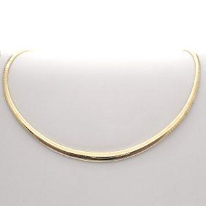 gouden omega collier
