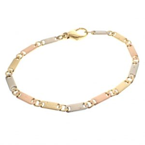 Mat gouden armband