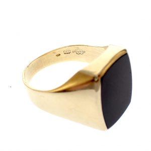 gouden heren ring 21