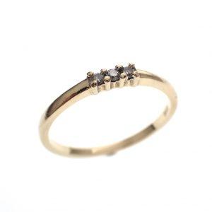 subtiele gouden ring dames