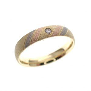 gouden ring gematteerd