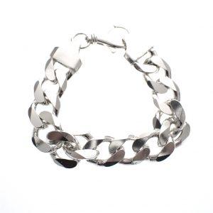 zware zilveren armband