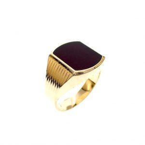 gouden heren ring vintage sarder