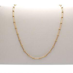 gouden dames collier